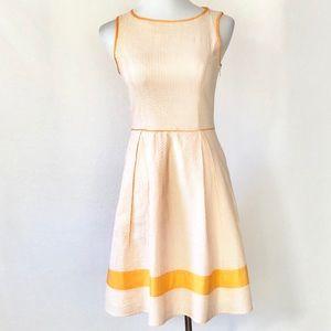 Jessica Simpson Fit and Flare Seersucker Dress